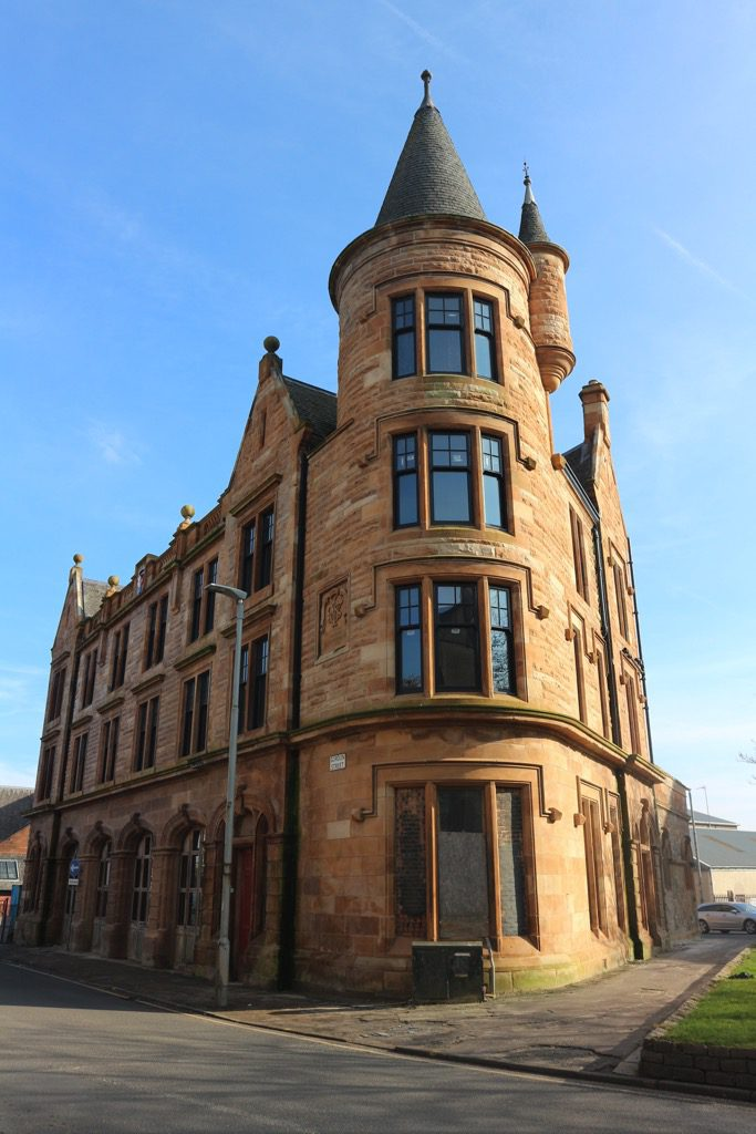 Photograph's of Paisley's Old Firestation
